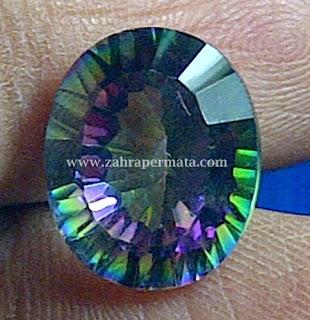 Batu Permata Mystic Quartz + Memo - ZP 338