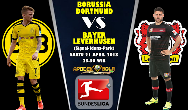 Prediksi Borussia Dortmund vs Bayer Leverkusen 22 April 2018