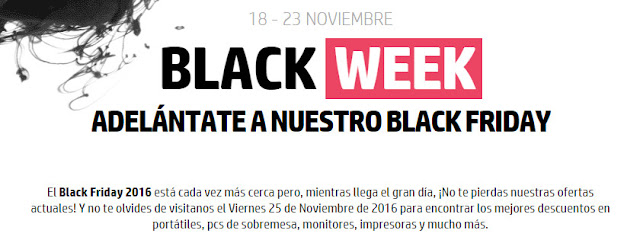 Black Week de la HP Store