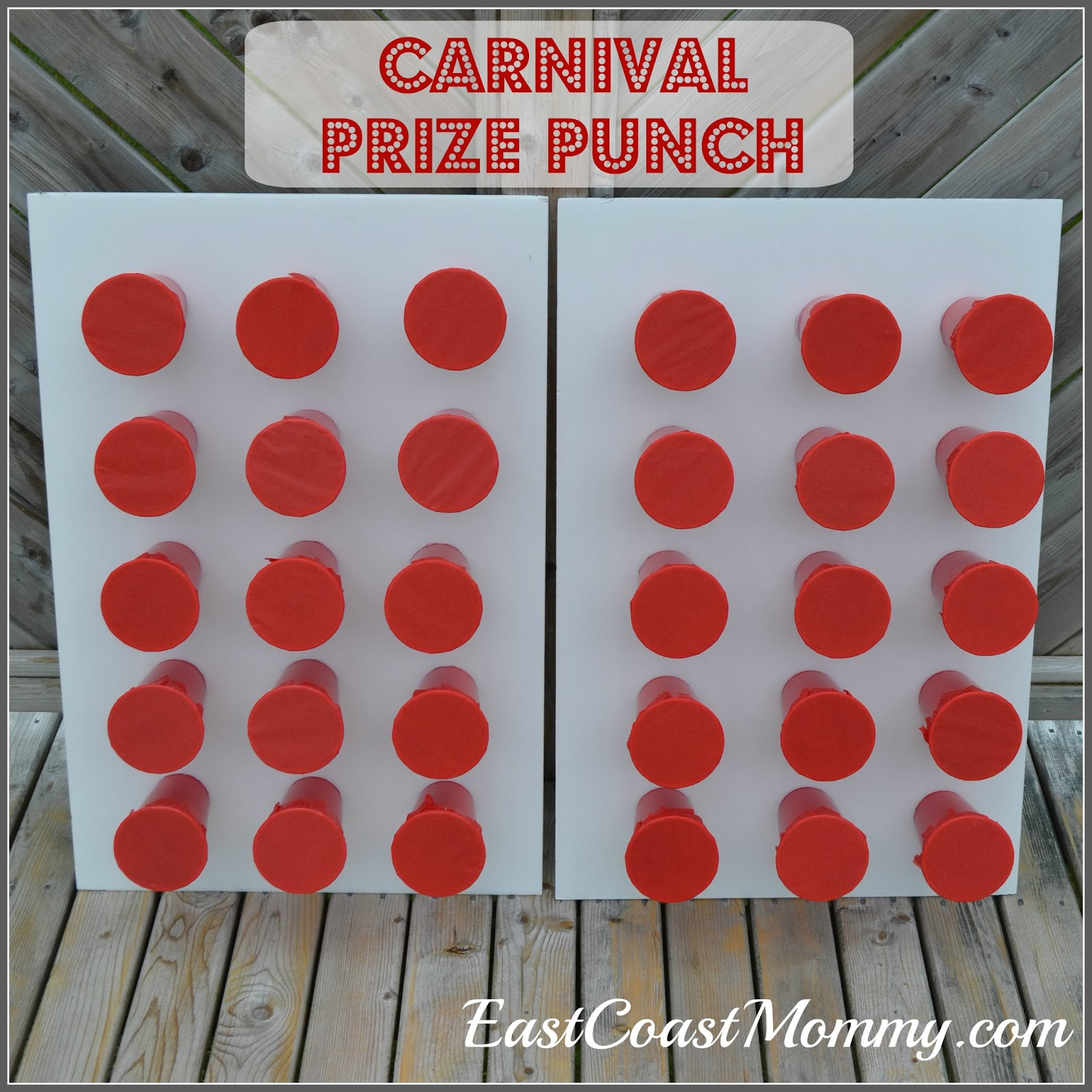 East coast mommy diy prize punch for Party decorations you can make at home