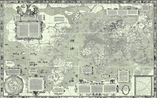 Peta Dunia buatan Gerardus Marcator