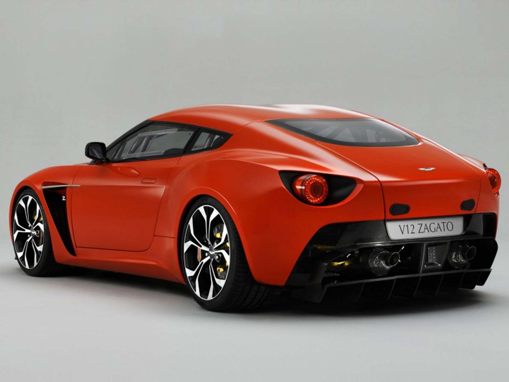 Luxury Vehicle: Aston Martin V12 Zagato Sport Car Review 2011 And Pictures