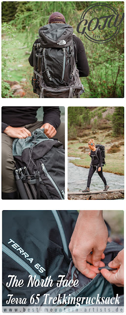 Gear of the Week #GOTW KW 26  The North Face Terra 65 Rucksack 13