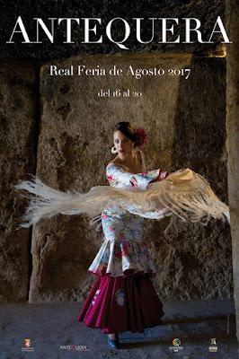 REAL FERIA DE AGOSTO 2017 - ANTEQUERA-  Raúl Pérez - Modelo: Nuria Morago