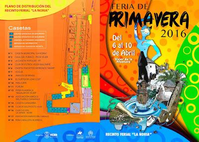 Feria de Vejer 2016 - Distribución del Recinto Ferial