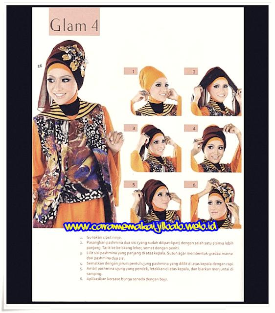 Tutorial Hijab Manten Modern untuk Acara Akad Nikah dan Resepsi Pesta Pernikahan