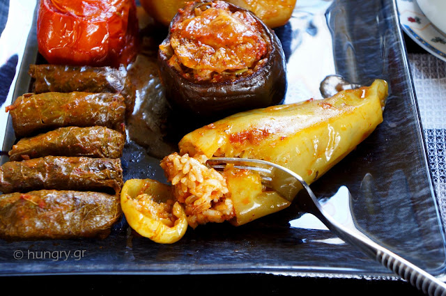 One Pot Stuffed Vegetables