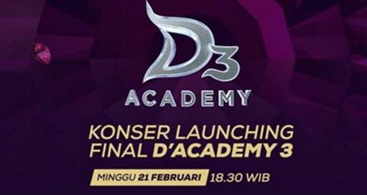 25 Besar D'Academy 3 Indosiar