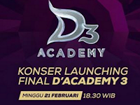 Daftar nama yang masuk 25 Besar D'Academy 3 Indosiar