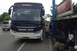 Agen Resmi Bus Sinar Jaya di Karanganyar Kebumen