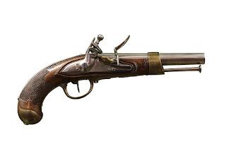 Un pistolet du temps de James Fazy