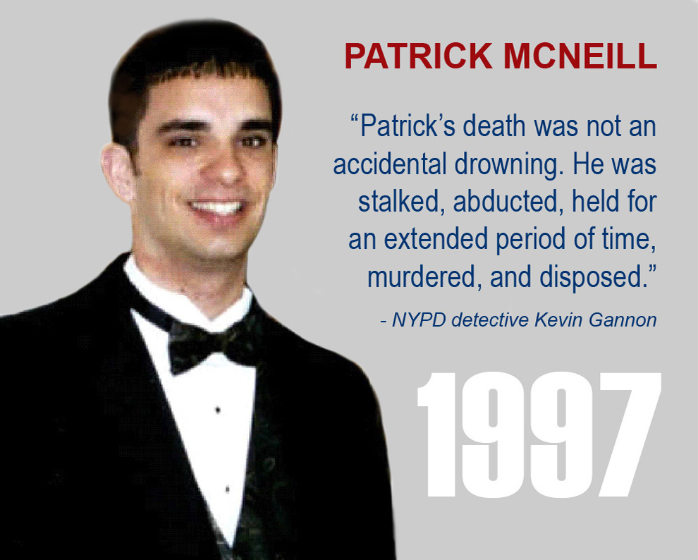 Smiley Face Killers 'Victim Zero' Patrick McNeill 1997