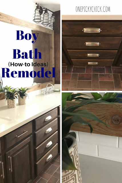 Boy Bathroom Remodel