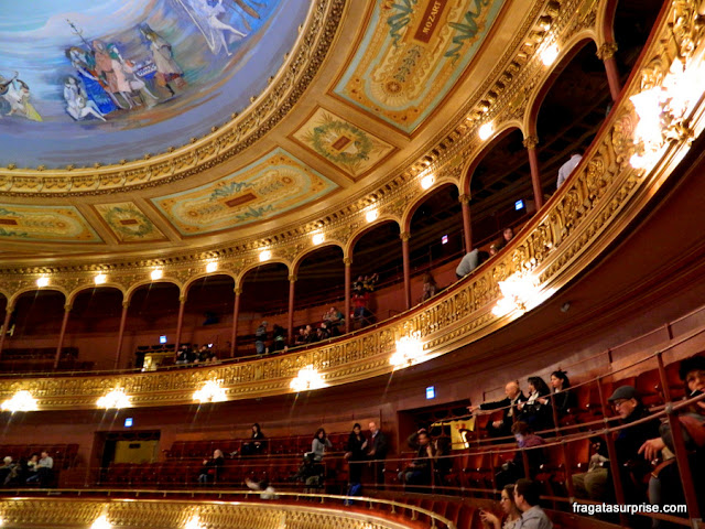Galerias do Teatro Colón de Buenos Aires