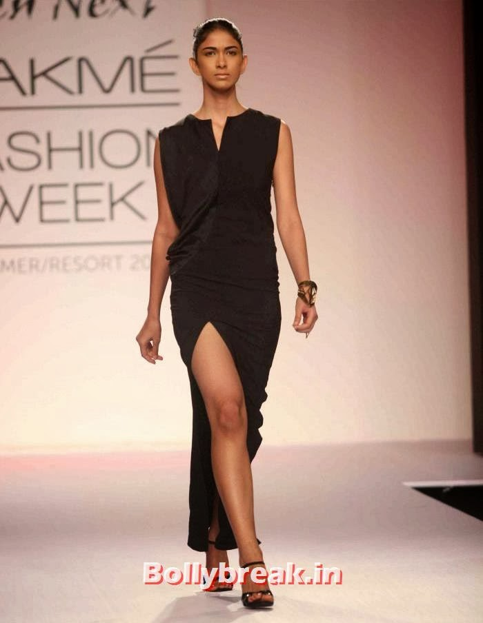 Reha Sukheja, Indian SuperModels Ramp Walk at Gen Next Show at Lakme Fashion Week 2014