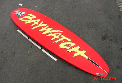 Baywatch Surfboard