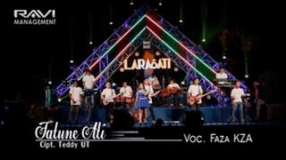 Lirik Lagu Tatune Ati (Dan Artinya) - Fazha / Anggun KZA