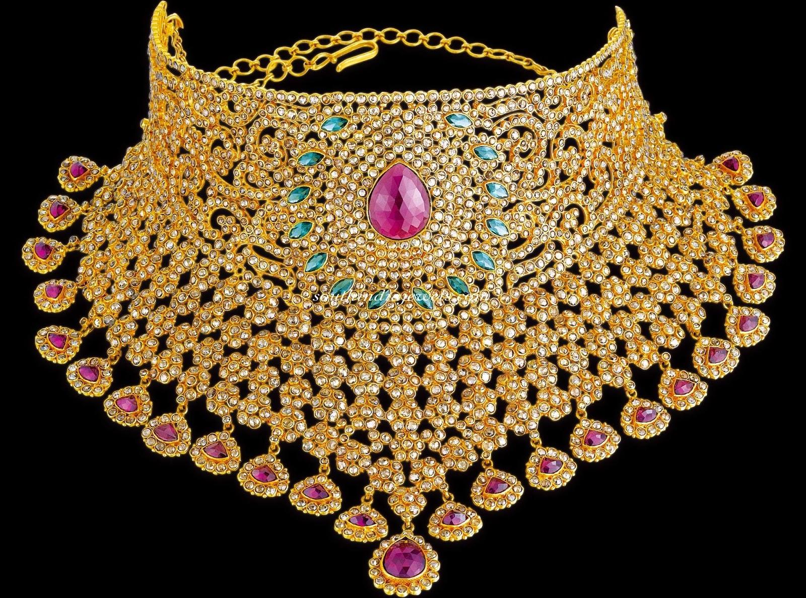 Latest 4 She Fashion : Latest Pakistan design of jewelry sets of 2016.