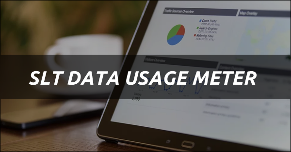 Most Sri Lankans are using SLT Broadband Internet Service. In this article, we bring you how much data we have used for broadband. How to Create a Data Usage Account You can see the amount of data remaining.