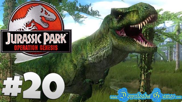 تحميل لعبة الديناصورات المتوحشة Jurassic park operation genesis