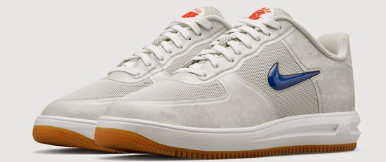more photos b33d8 851cf Nike Lunar Force 1 Fuse SP Clot Neutral Grey University Red-Game  Royal-White Release Reminder