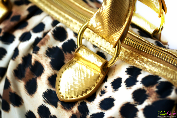 Victoria's Secret Leopard Handbag