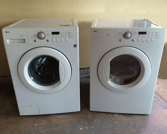 LG front load washer and dryer set on sale - OKC Craigslist