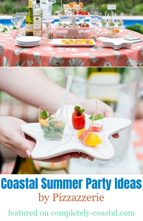 Coastal Summer Party Idea