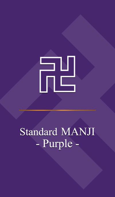 Standard MANJI -Purple-