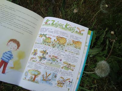 świerszczyk wielka księga, książka wydana w rocznicę istnienia czasopisma, zając kicaj