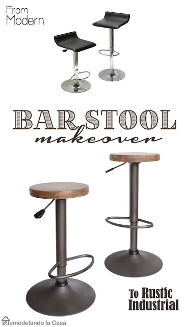 modern pneumatic adjustable stools makeover