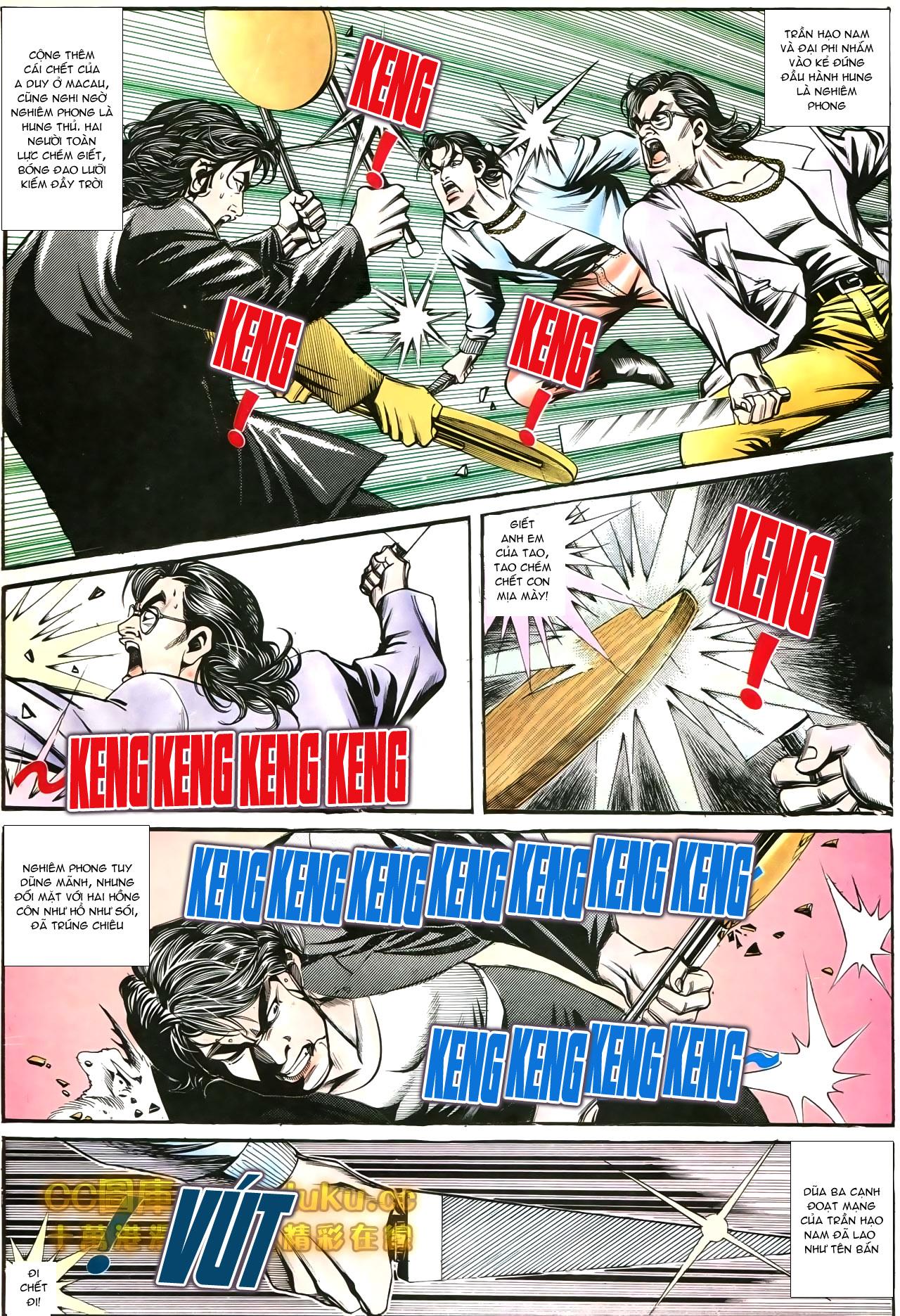 Người Trong Giang Hồ chapter 197: quạ đen báo thù trang 5