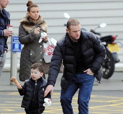 Coleen Rooney dan Wayne Rooney