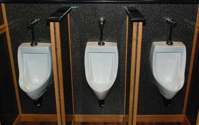Odorless Urinals in Restroom Trailer