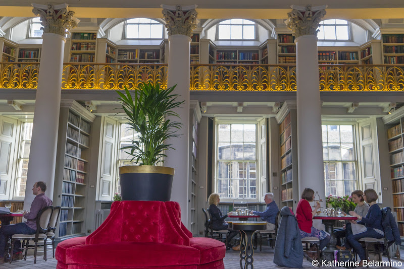 Colonnades at the Signet Library Things to Do in Edinburgh in 3 Days Itinerary