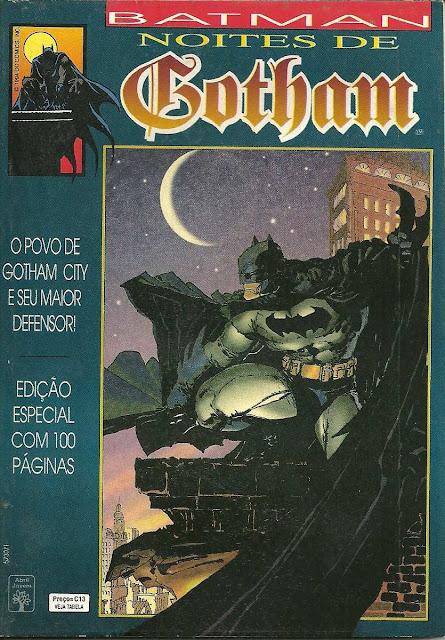 Review: Batman – Noites de Gotham (Editora Abril)