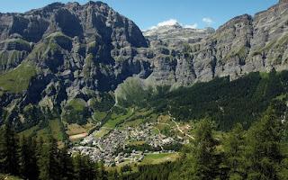 Лейкербад: горноклиматический курорт на источниках радоновых вод. Швейцария