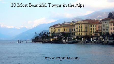 Beautiful Towns in the Alps