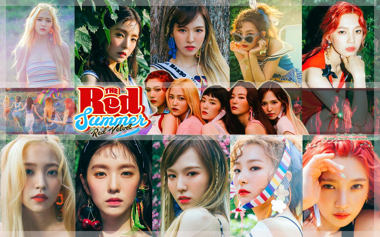 k-pop lover ^^: RED VELVET - The Red Summer WALLPAPER