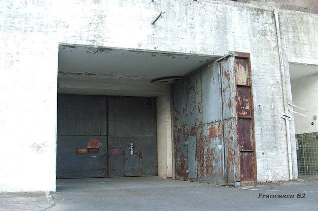 entrée du bunker de Lorient
