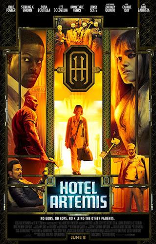 Hotel Artemis (BRRip 720p Dual Latino / Ingles) (2018)