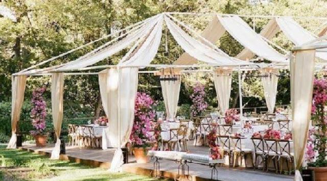 Model dan Dekorasi Unik Pesta Pernikahan di Rumah