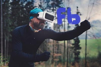 نظارات فيسبوك للواقع الإفتراضي