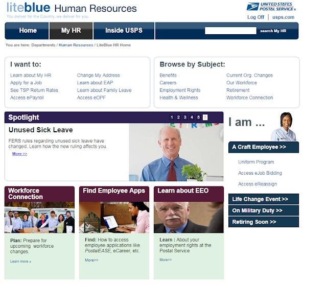 liteblue human resources