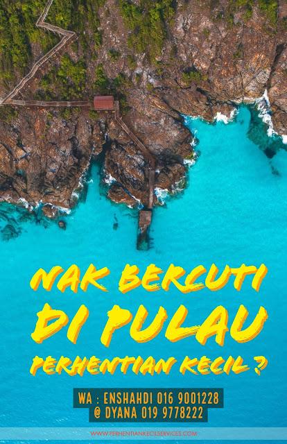 Pakej Pulau Perhentian Kecil 2018,3 hari 2 malam sharila resort Pulau Perhentian