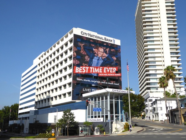 Giant Best Time Ever series premiere billboard