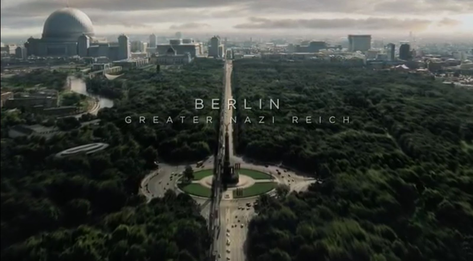 GERMANIA-SPEER: Welthauptstadt Germania 1960