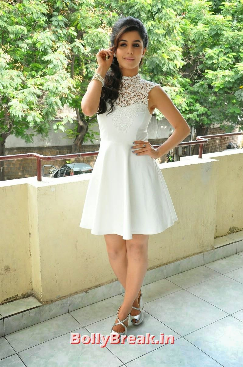 15, Isha Talwar Latest Photoshoot Pics in White Dress