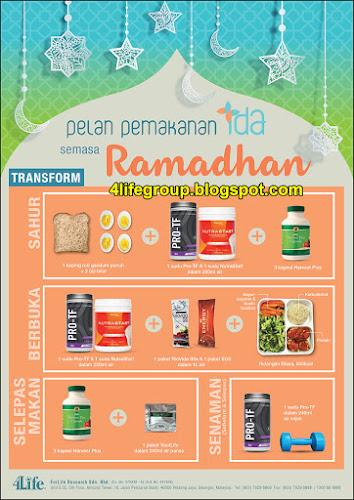 foto Pelan Pemakanan IDA Semasa Ramadhan (TransForm)