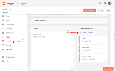 how to add and show pages to blogger blog.